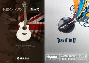 NAMM show Yamaha catalogue