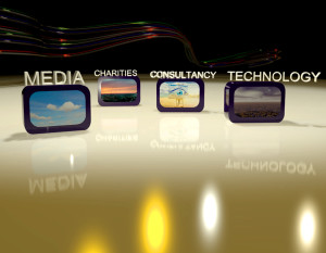 CNUK TV Presenting Background